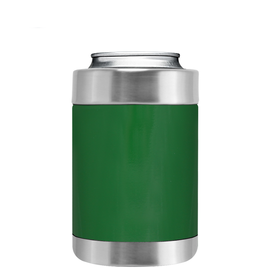 TREK Green Gloss Can and Bottle Cooler