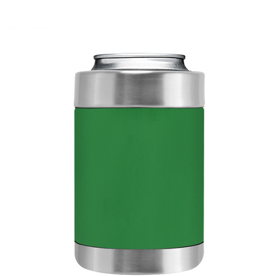TREK Kelly Green Can and Bottle Cooler