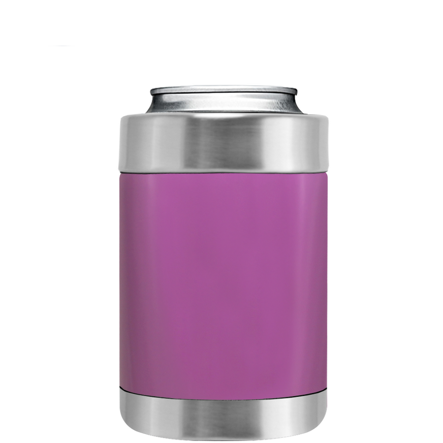 TREK Light Violet Can and Bottle Cooler