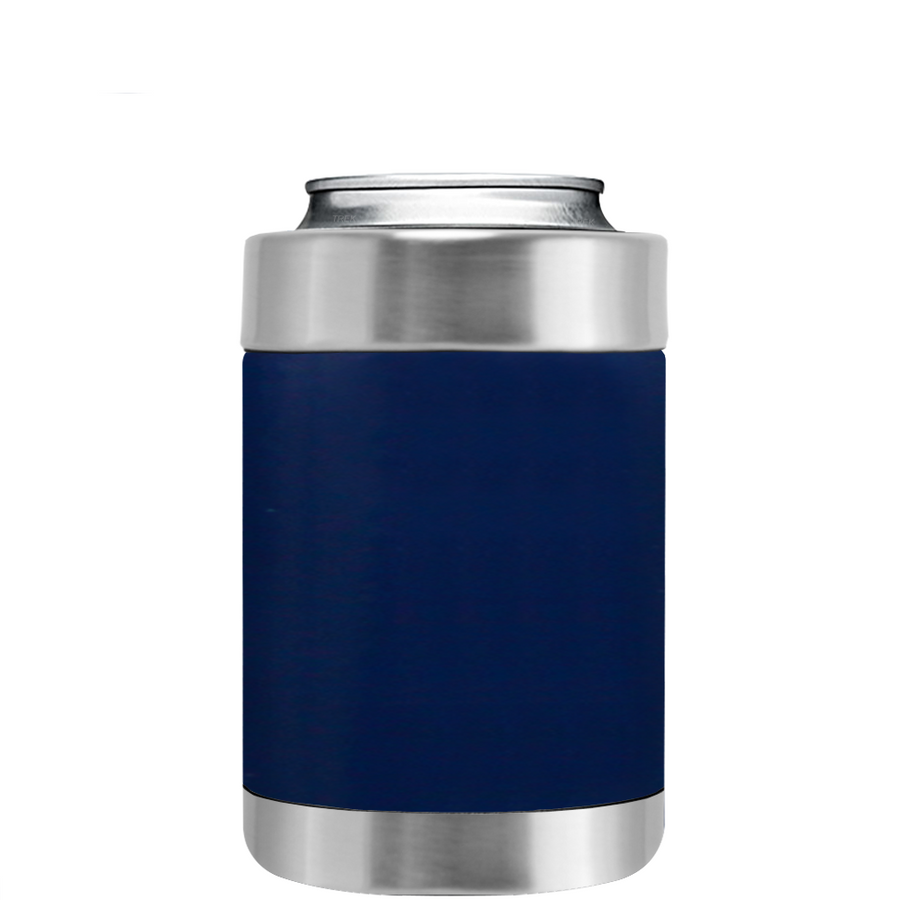 TREK Navy Blue Can and Bottle Cooler