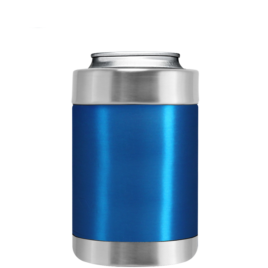 TREK Blue Translucent Can and Bottle Cooler