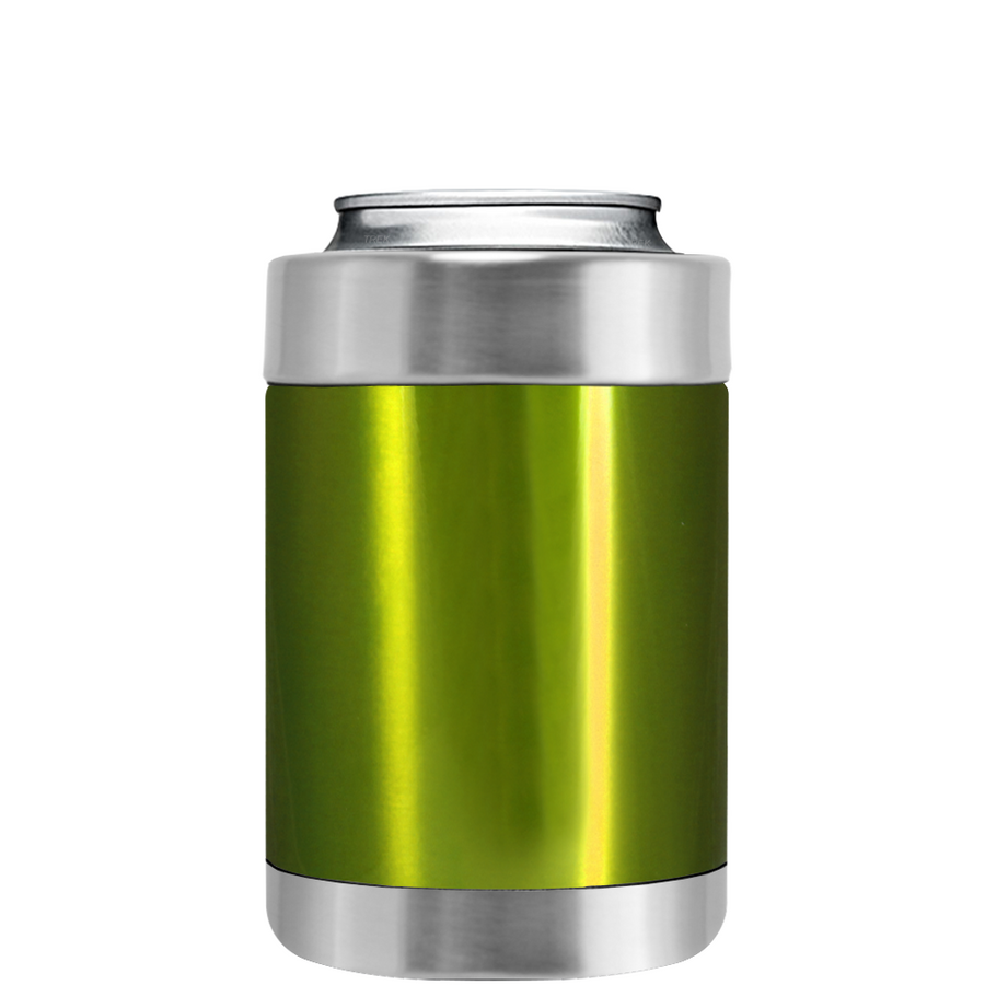 TREK Candy Apple Green Translucent Can and Bottle Cooler