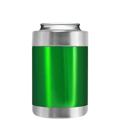 TREK Green Translucent Can and Bottle Cooler