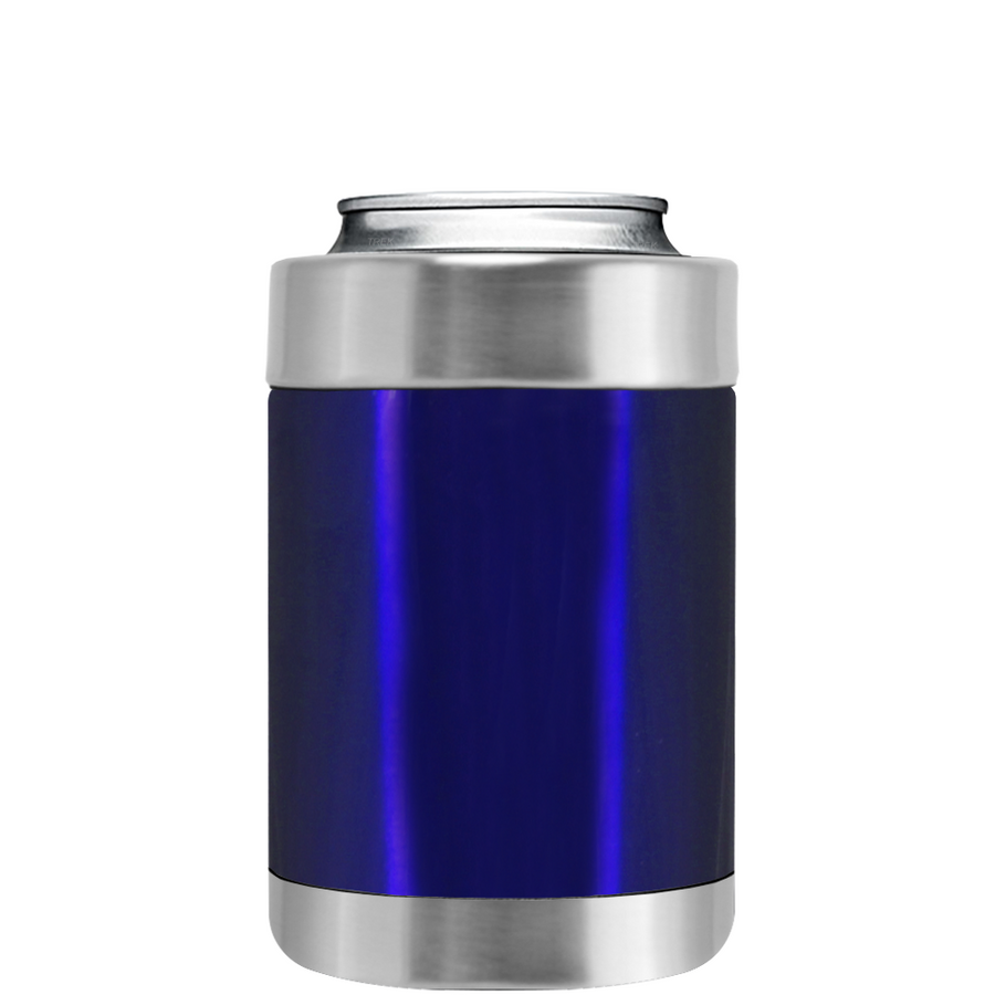 TREK Intense Blue Translucent Can and Bottle Cooler