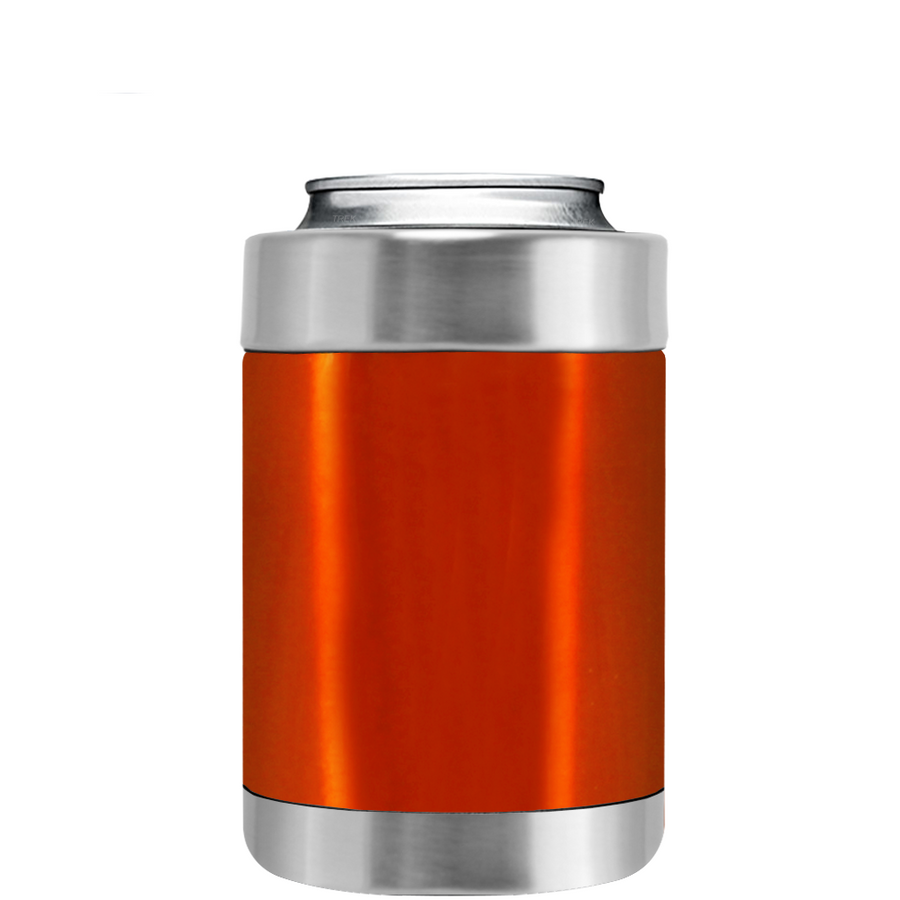 TREK Orange Translucent Can and Bottle Cooler