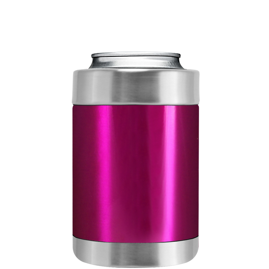 TREK Pink Translucent Can and Bottle Cooler