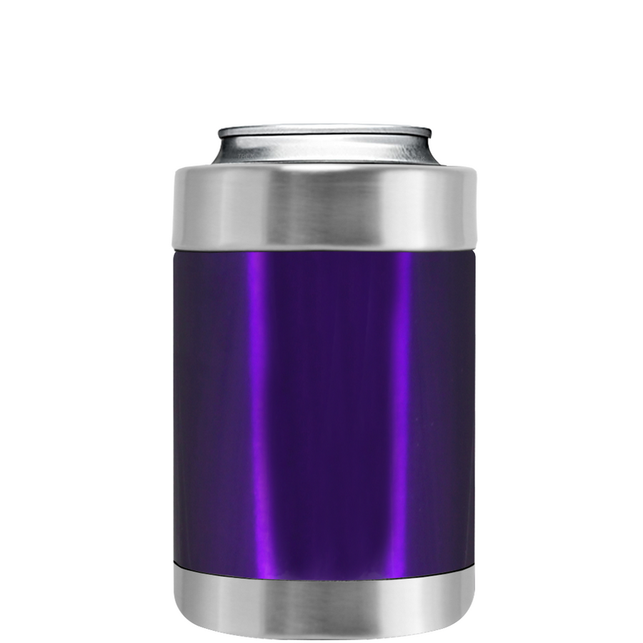 TREK Purple Translucent Can and Bottle Cooler