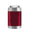 TREK Red Translucent Can and Bottle Cooler