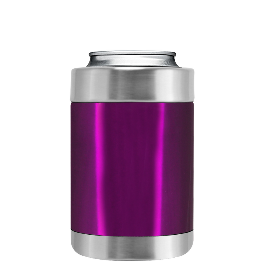 TREK Raspberry Translucent Can and Bottle Cooler
