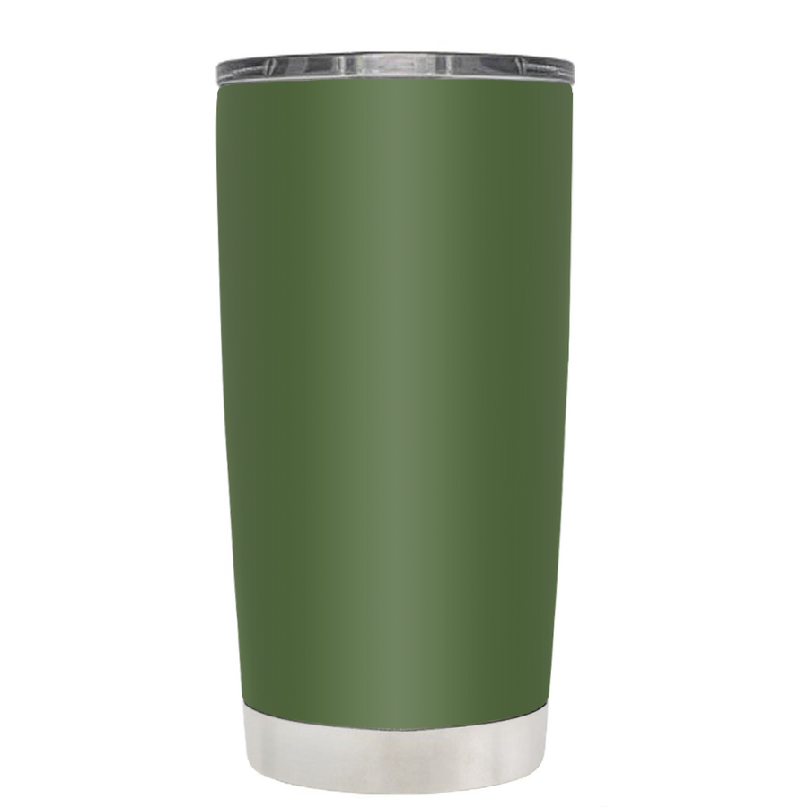 TREK Army Green 20 oz Tumbler