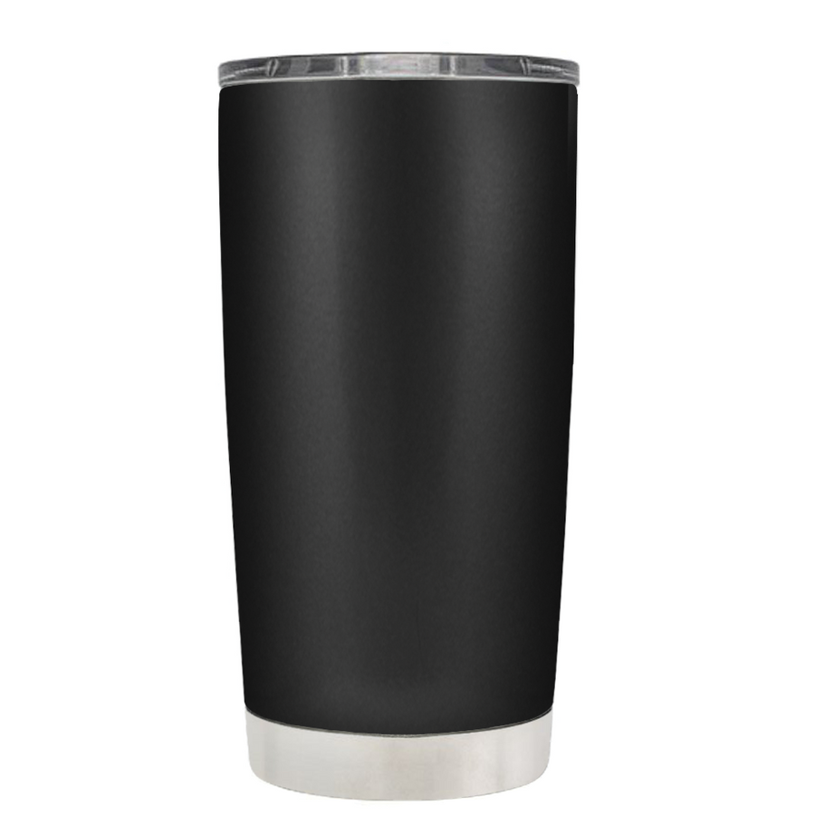 DEPLORABLE - Hardworking American on Black 20 oz Tumbler