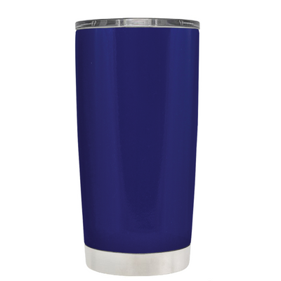 Be Strong when you are weak on Ultra Marine 20 oz Police Tumbler