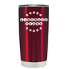 Liberals Tears on Translucent Red 20 oz Tumbler