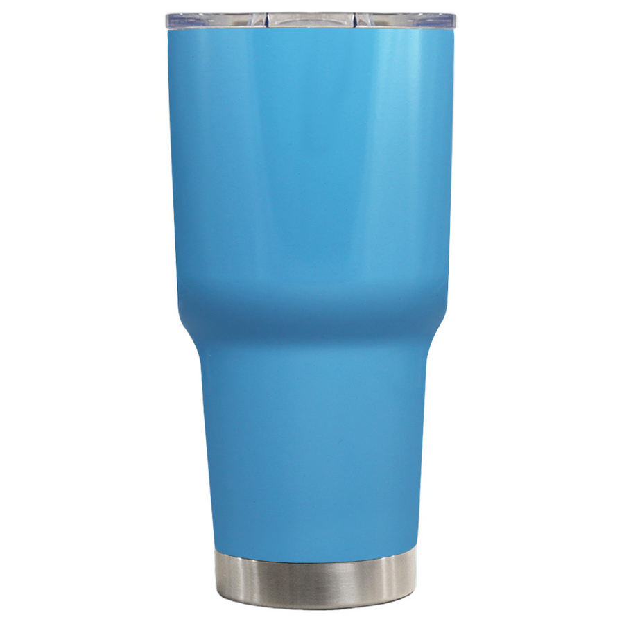 TREK Baby Blue 30 oz Tumbler
