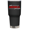 Make America Great Again on Black 30 oz Tumbler