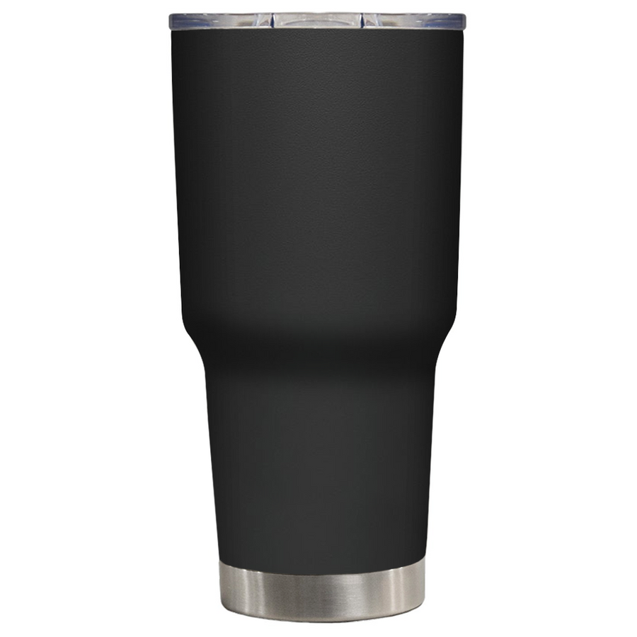 DEPLORABLE - Hardworking American on Black 30 oz Tumbler