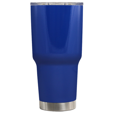 TREK Blue Gloss 30 oz Tumbler