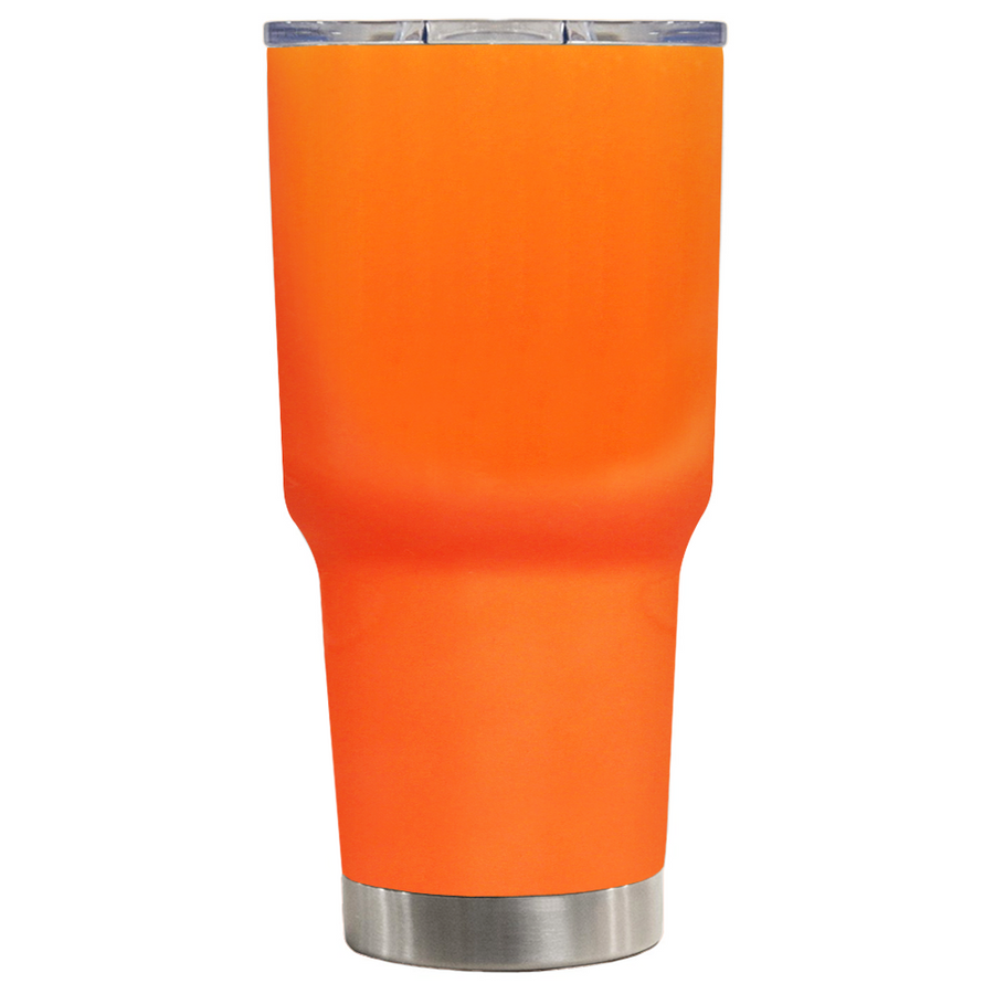 TREK Bright Orange 30 oz Tumbler