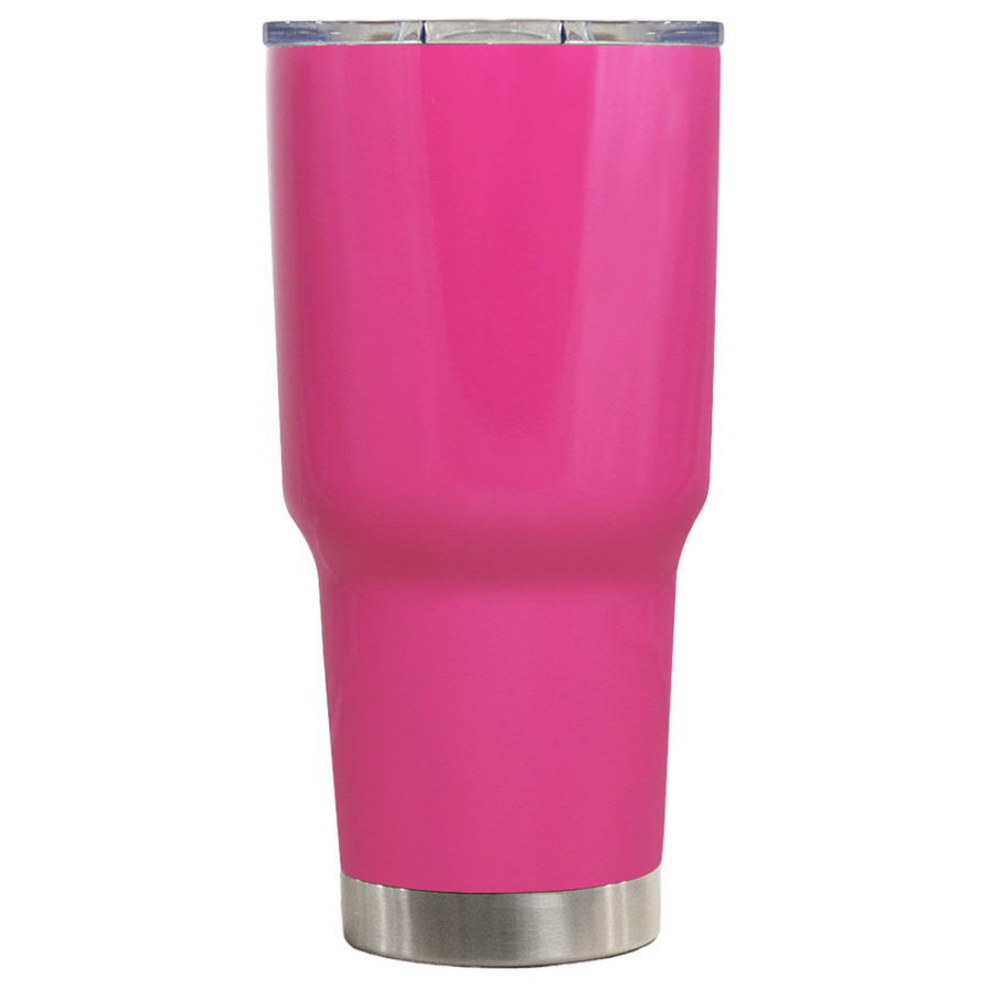 TREK Bright Pink 30 oz Tumbler