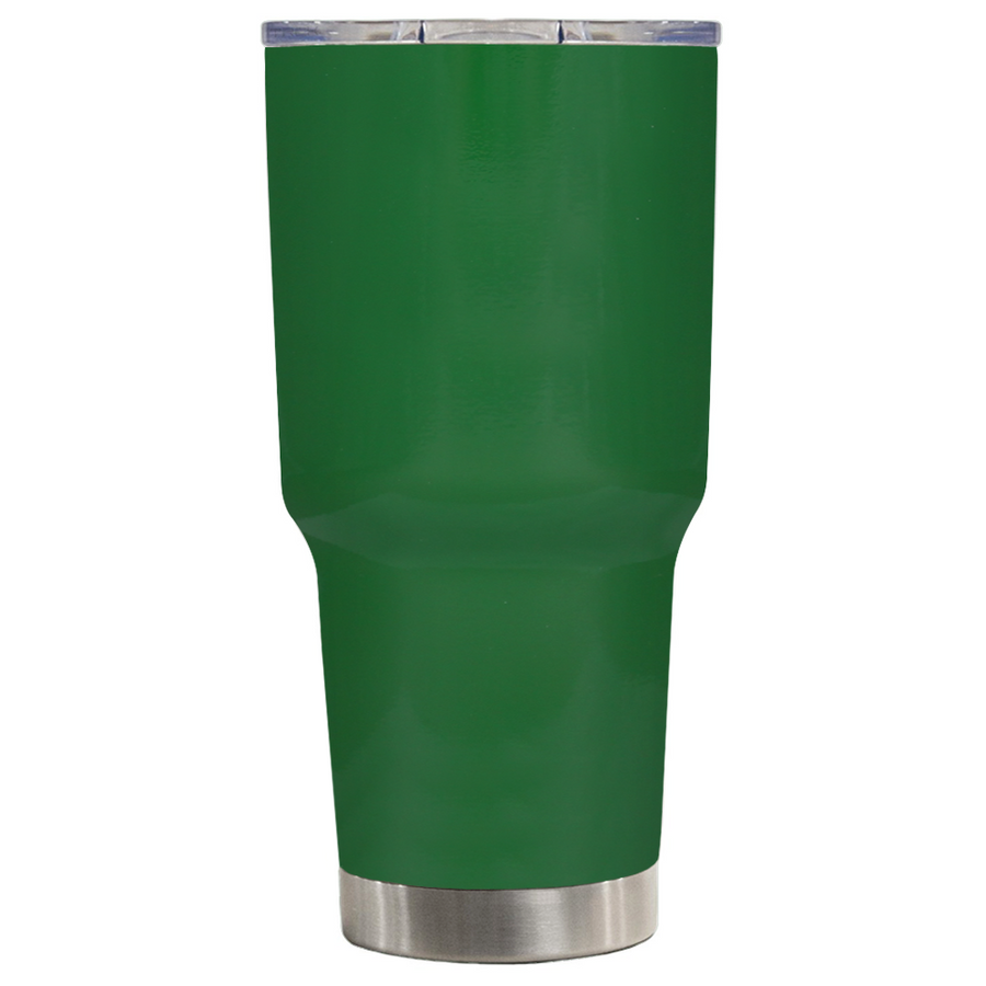 TREK Green Gloss 30 oz Tumbler