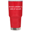 Make American Great Again - MAGA on Red 30 oz Tumbler