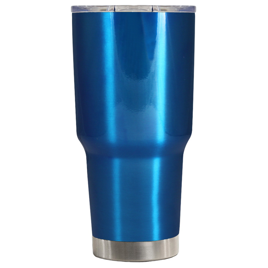 TREK Blue Translucent 30 oz Tumbler
