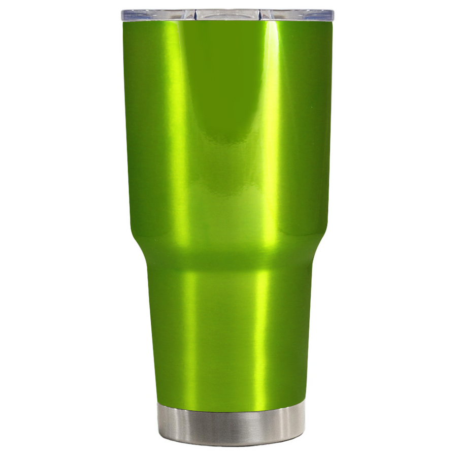 TREK Green Apple Translucent  30 oz Tumbler