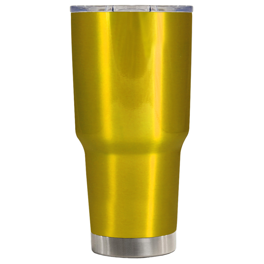 TREK Gold Translucent 30 oz Tumbler