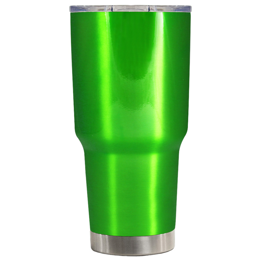 TREK Green Translucent  30 oz Tumbler