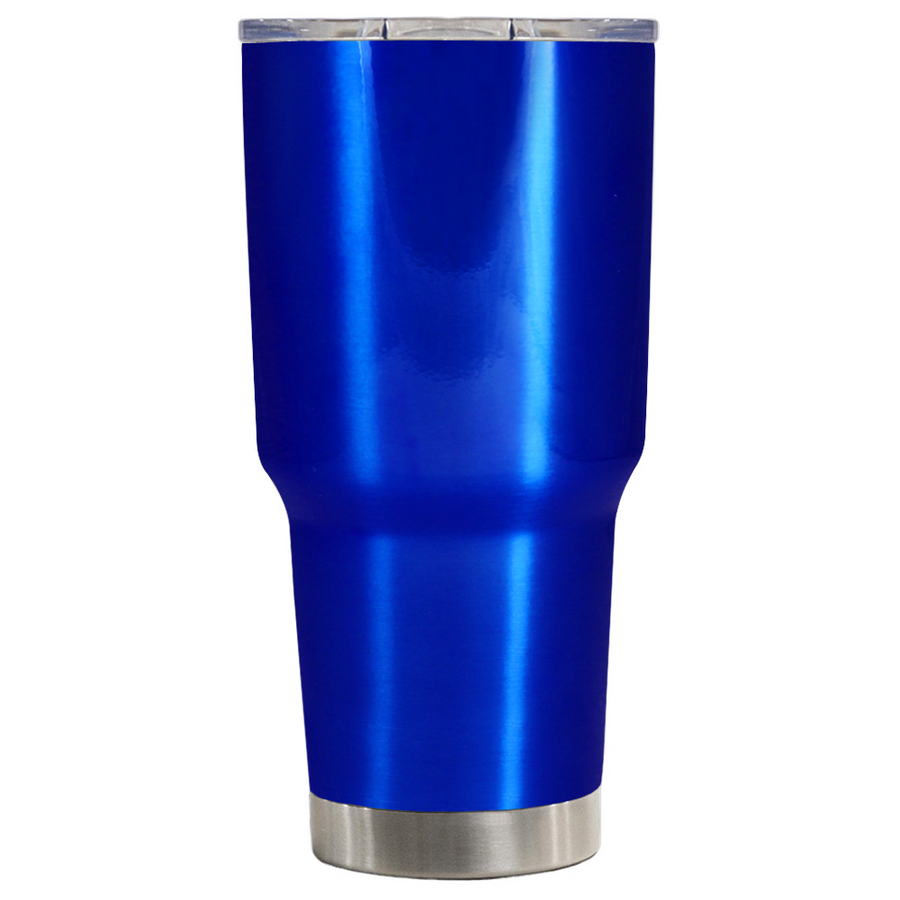 TREK Intense Blue Translucent 30 oz Tumbler