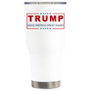 Trump Make America Great Again on White 30 oz Tumbler
