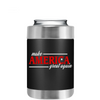 Make America Great Again on Black Can and Bottle Cooler