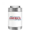 Make American Great Again on White Can and Bottle Cooler