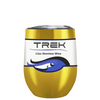 Custom TREK Translucent Gold 12 oz Stemless Wine Glass