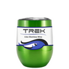 Custom TREK Translucent Green 12 oz Stemless Wine Glass