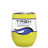 Custom TREK Yellow Gloss 12 oz Stemless Wine Glass