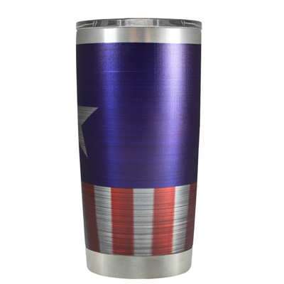 American Star on Stainless 20 oz Tumbler