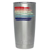 YETI American Flag Watercolors 20 oz Tumbler Rambler