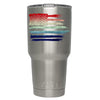 YETI American Flag Watercolors on 30 oz on Tumbler Rambler