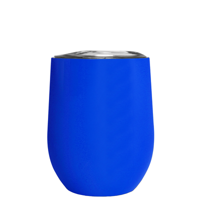All I Need Today is a Little Bit of Wines on Blue 12 oz Stemless Wine Tumbler