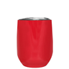 Age Gets Better with Wine on Red 12 oz Stemless Wine Tumbler