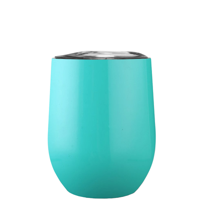 All I Need Today is a Little Bit of Wines on Seafoam 12 oz Stemless Wine Tumbler