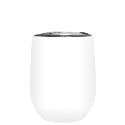 All I Need Today is a Little Bit of Wines on White 12 oz Stemless Wine Tumbler