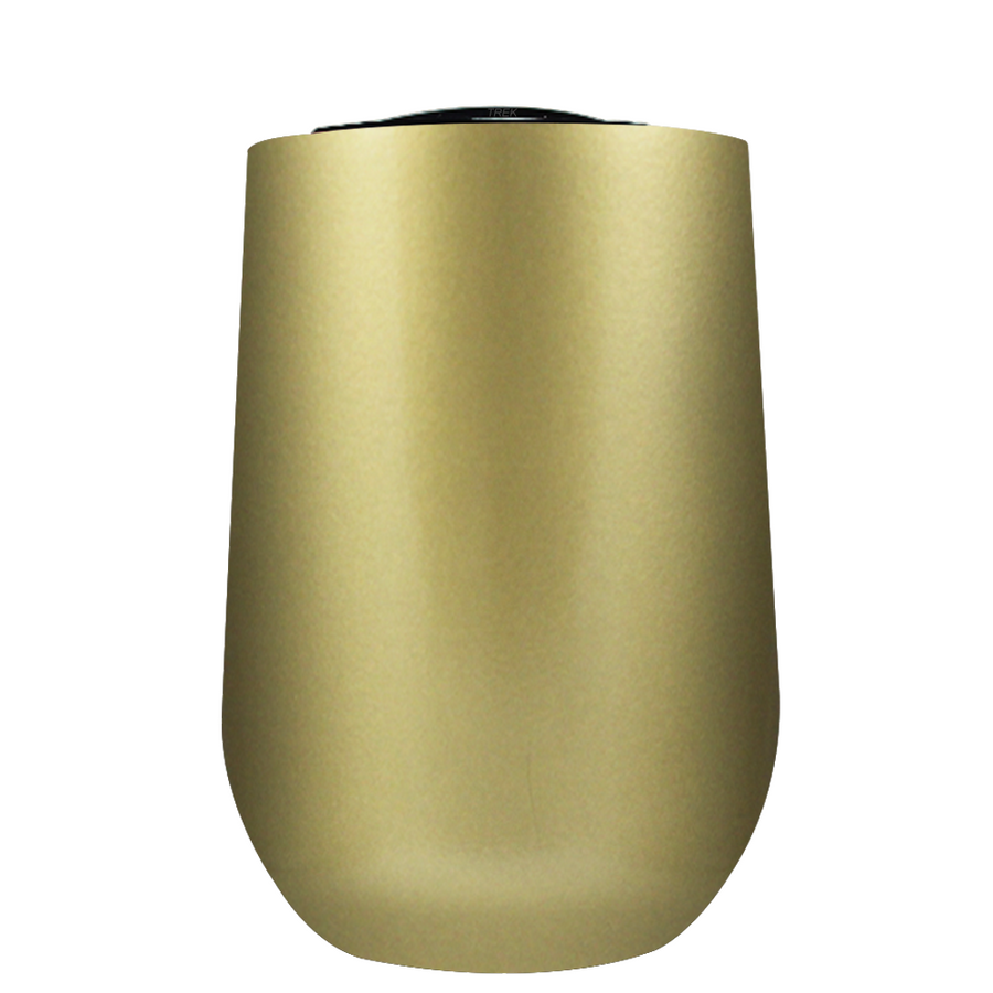 Vintazza Gold 16 oz Stemless Wine Stainless Steel Cup