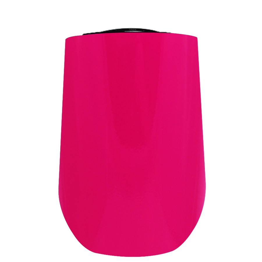 Vintazza Hot Pink 16 oz Stemless Wine Stainless Steel Cup