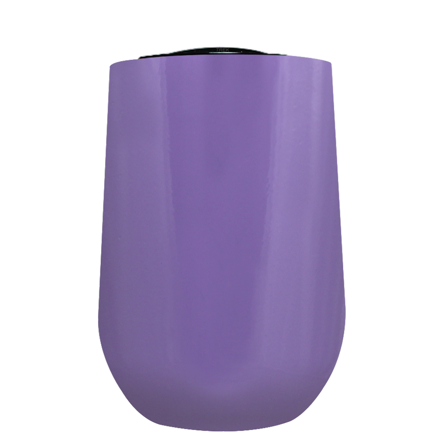 Vintazza Lavender 16 oz Stemless Wine Stainless Steel Cup