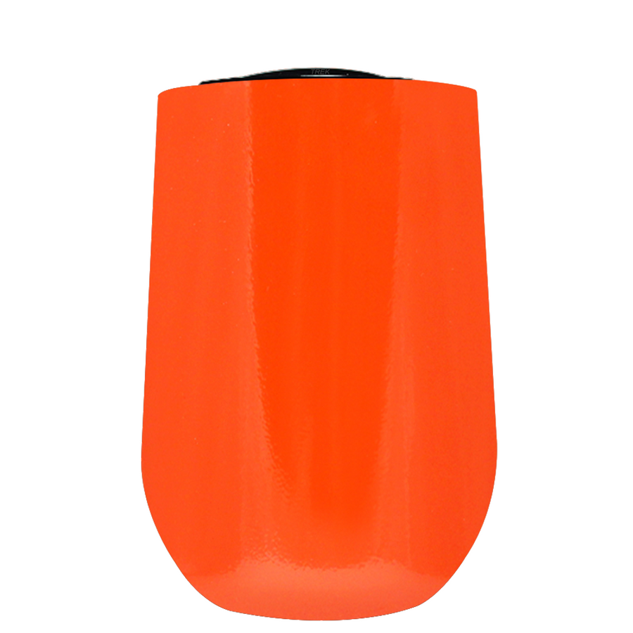 Vintazza Orange Gloss 16 oz Stemless Wine Stainless Steel Cup