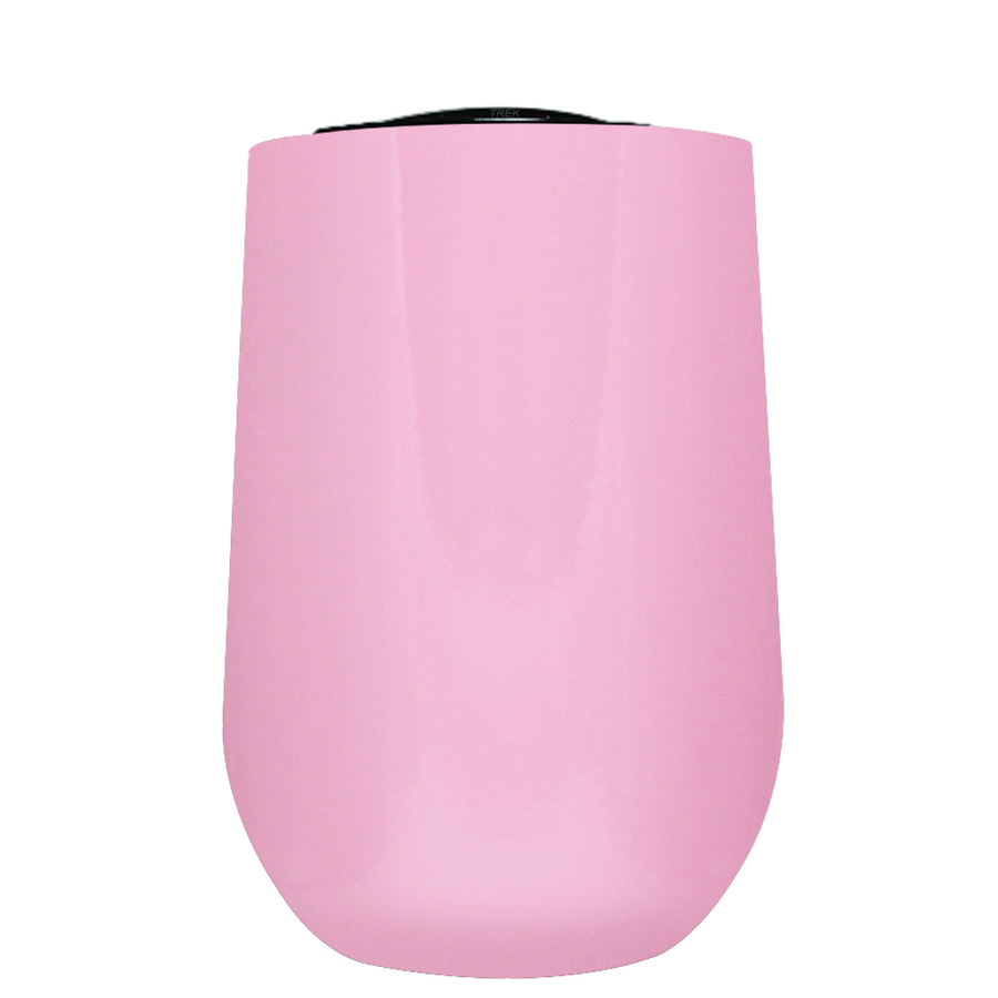 Vintazza Pretty Pink 16 oz Stemless Wine Stainless Steel Cup