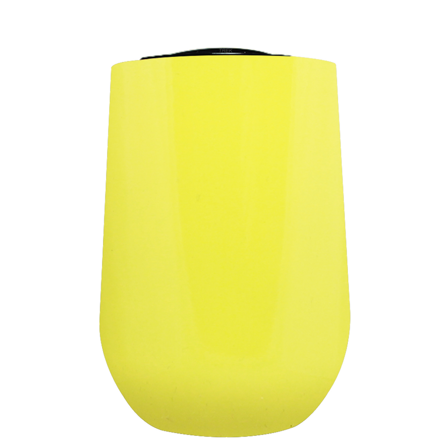 Vintazza Sunshine Yellow 16 oz Stemless Wine Stainless Steel Cup