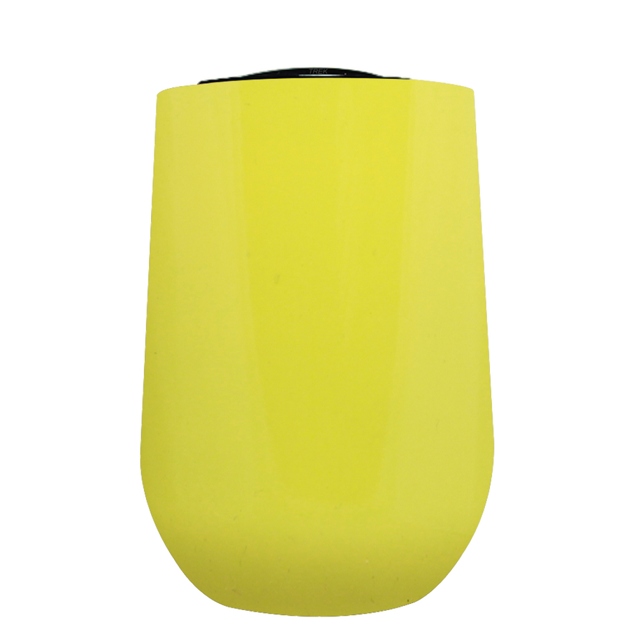 Vintazza Yellow Gloss 16 oz Stemless Wine Stainless Steel Cup